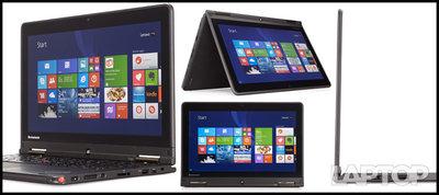 Lenovo Yoga, Intel i5, 8 Gb, 500 Gb HDD,Win10 Refurbished Touch