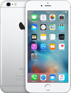 Apple iPhone 6s,128Gb Refurbished Silver/ White